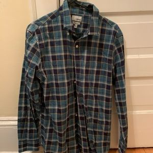 Multicolor Blue Flannel